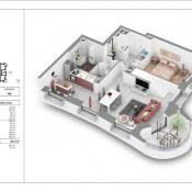 Vente de prestige appartement Lyon 2ème 921000€ - Photo 1