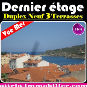 Vente de prestige appartement Port Vendres