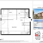 Vente appartement Faverges 154000€ - Photo 1