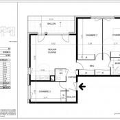 Vente appartement Viry 363500€ - Photo 1