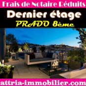 Vente de prestige appartement Marseille 8ème