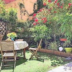 4 pièces rez-de-jardin 90m²