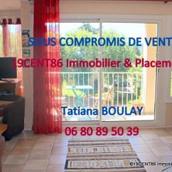 PROCHE VERNAY - T3 AU DERNIER ÉTAGE AVEC BALCONS