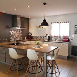 Maison contemporaine st medard d aunis - 5 pièce (s) - 136 m²