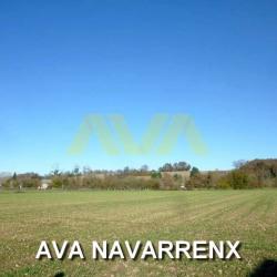 Terrain à Navarrenx avec vue Pyrénées