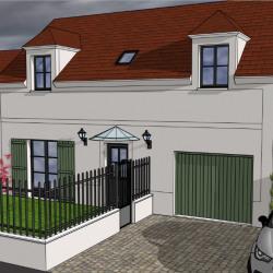 Lot 2: maison 125.81 m² 4 chambres sur terrain d