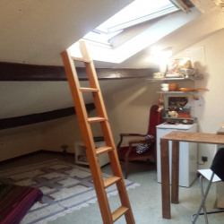 Toulouse camille pujols - studio mansardé 20m²
