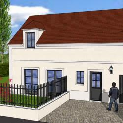 Lot 4: maison 111.21 m² 4 chambres sur terrain d