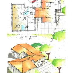 Maison Mours Saint Eusebe 5 pièce(s) 130 m2