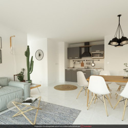 Sainte clotilde - 2 pièce (s) - 36 m²