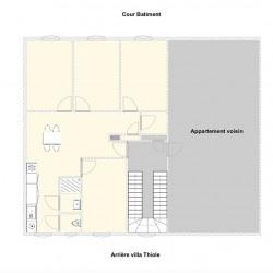 Appartement Nice 4 pièce (s) 66.81m²