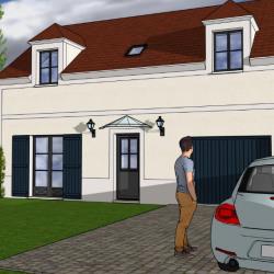 Lot 1: maison 120.12 m² 4 chambres sur terrain d