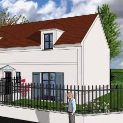 Lot 3: maison 114.50 m² 4 chambres sur terrain d