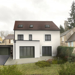 Terrain constructible centre ville de Montlhéry