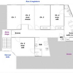 Appartement Nice 4 pièce (s) 102 m²