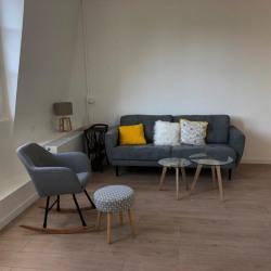 Quartier château, appartement 3 pièces meublé