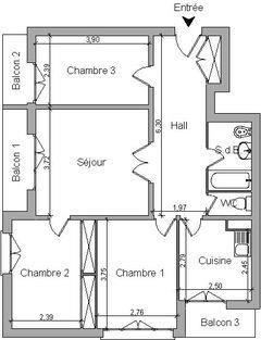 Vente appartement Caluire et cuire 175000€ - Photo 8