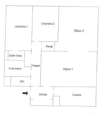 Vendita appartamento Margency 274000€ - Fotografia 5