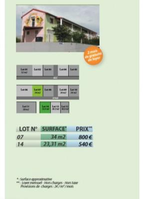 Bureaux Sainte Anne 23,31 m2