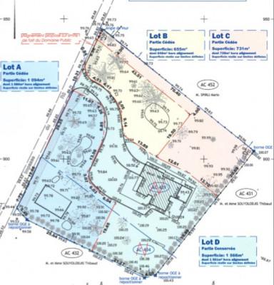 Terrain Soleymieu 731 m²
