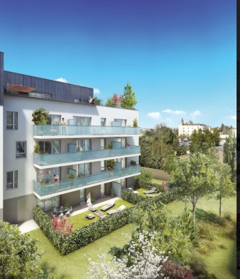 Appartement 4 pièces + grande terrasse