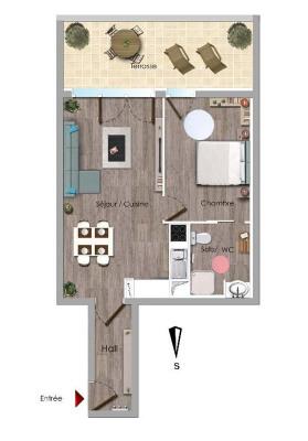 Nous proposons à la vente quelques appartement neufs (BBC) plus box dans un petit immeuble de standing en ...
