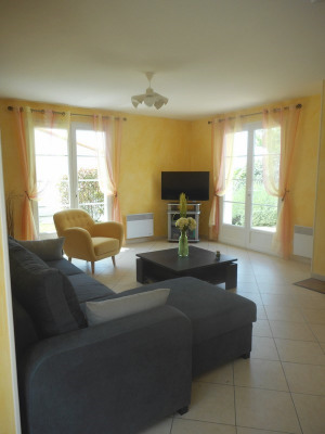 Maison 3 ch.+ studio attenant, terrasse, jardin, 1km plage Nauza