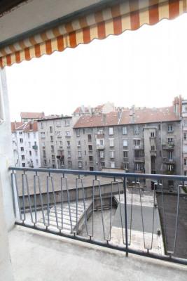 Grenoble Centre, Championnet 2 pièces + C de 56m² avec balcon et