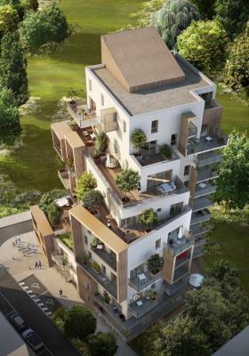 T3 de 62 m² avec 8 m² de terrasse