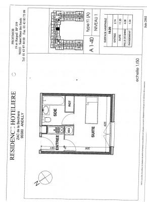 Appartement 1 pièce - Meublé