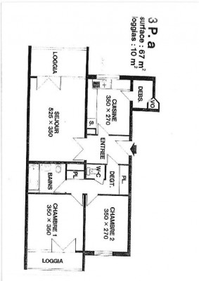 Appartement Marly Le Roi 3 pièce (s) 67 m²