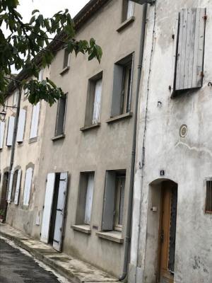Rare: Centre Bram maison avec cour et garage