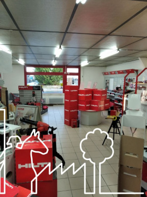 Local d'activité La Roche Sur Yon 200 m²