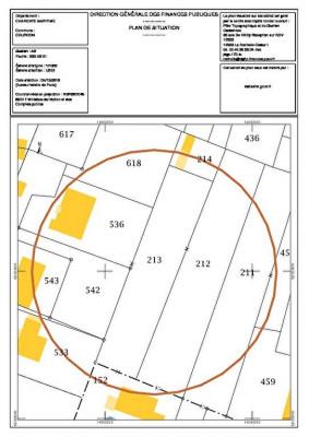 Terrain Courçon 1253 m²