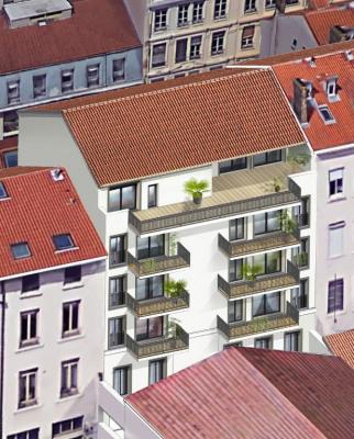 Coeur 6 neuf t 4 + balcon