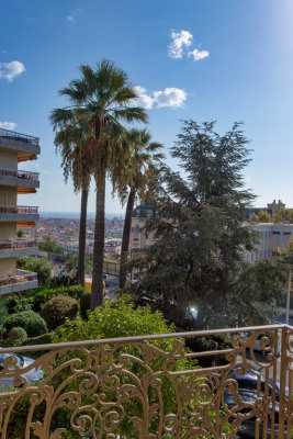 Appartement Nice 2 pièce (s) Balcon et vue mer