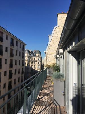 Loft dernier étage avec terrasse