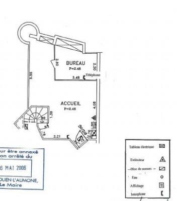 Plein centre - Surface à usage profesionnel et commercial