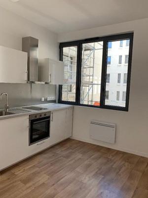 Studio Valenciennes 32.8 m²