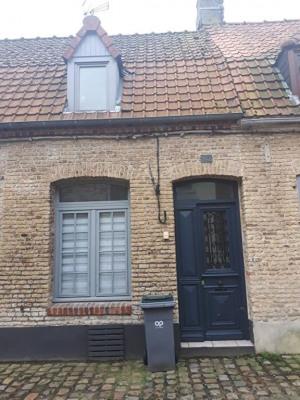 Saint-omer - maison avec 1 chambre et une terrasse