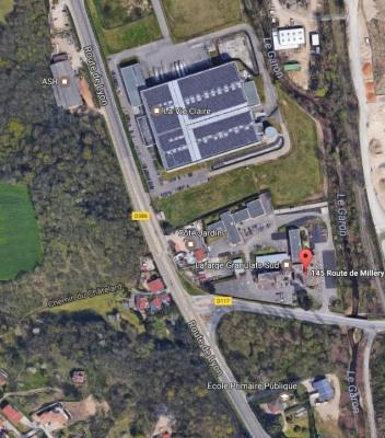 Zone d'activité Montagny limite MILLERY immeuble HERMÈS..