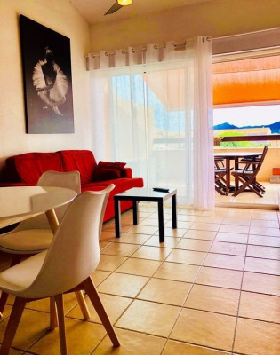 T2 BIS FURNISHED WITH TERRACE AND PARKING