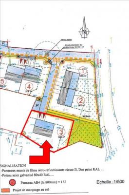 Terrain viabilisé savenay - 585 m²