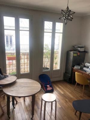 Appartement 3 pièces - balcon - cave - Paris XV