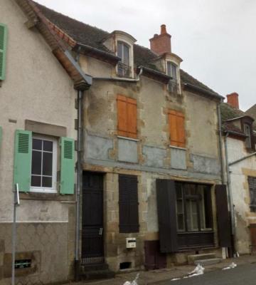 Maison de bourg ancienne échoppe