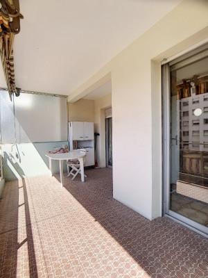 CROS DE CAGNES- 3 pièces- terrasse - cave- garage