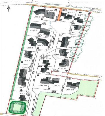 Terrain viabilisé chateaubriant - 399 m²
