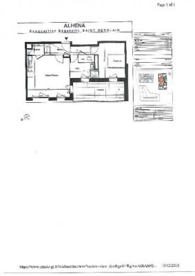 Appartement 2 pièce (s) 48.14 m²