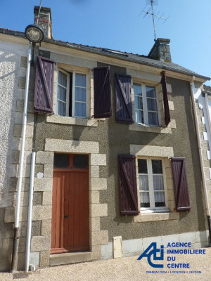 Axe pontivy-loudeac maison en pierre