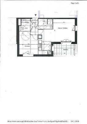 Appartement Saint Herblain 2 pièce (s) 45.95 m²